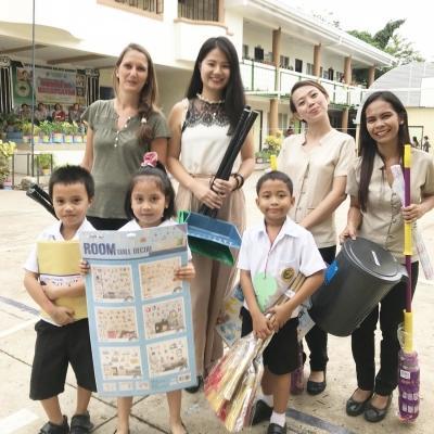 フィリピンで教育 松井亜里香